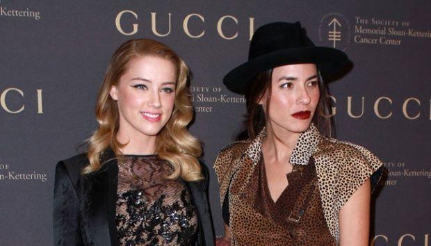 Pacar Lesbian Amber Heard Buat Johnny Depp Cemburu?