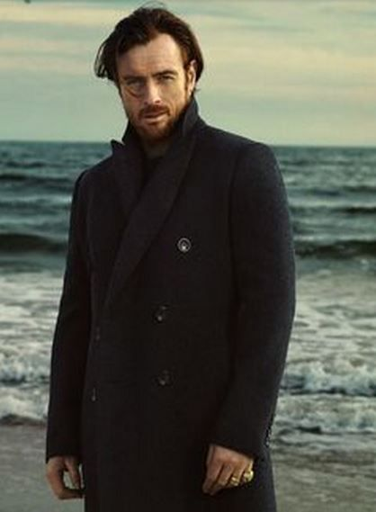 Toby Stephens, photographed by Bjorn Iooss for the March 2014 issue of Vanity Fair. Son of Maggie Smith.