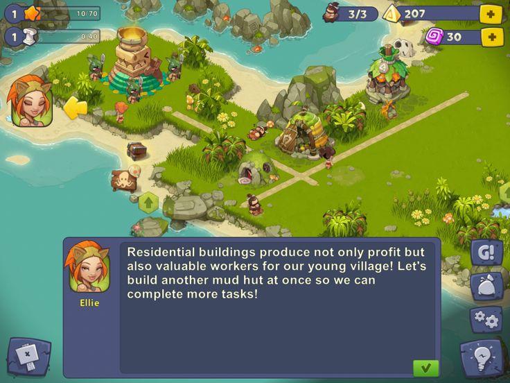 Adventure Era | Game Task | UI HUD User Interface Game Art GUI iOS Apps Games | www.girlvsgui.com