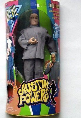 Austin Powers 1998 Trendmasters Dr. Evil Talking Doll Free Ship  | eBay