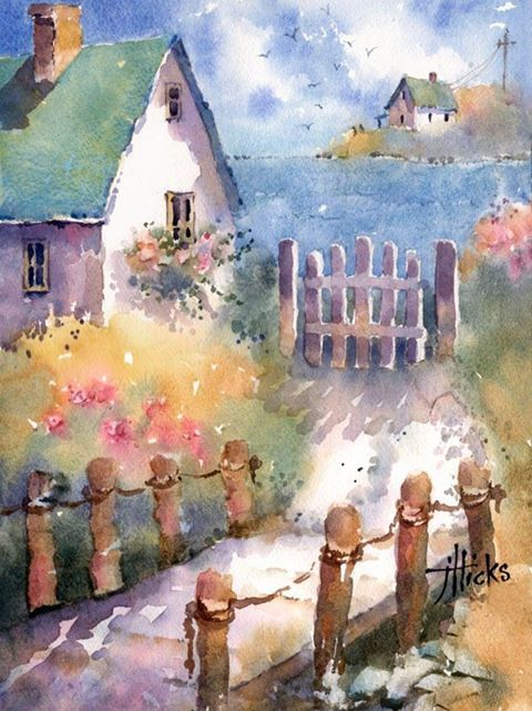 23 Best Images About Watercolour Summer On Pinterest