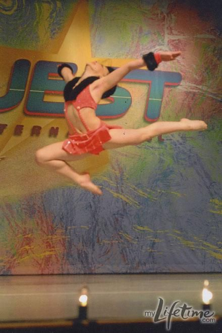 Dance Mom's Kendall. Such a cool leap!