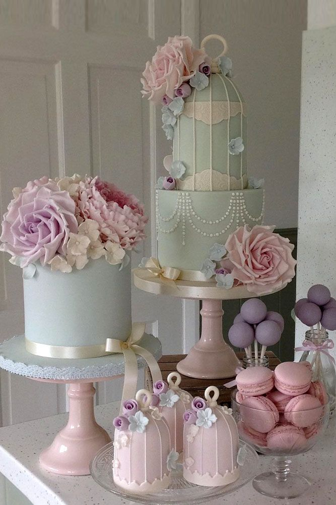 9 Amazing Wedding Cake Designers We Totally Love ❤ See more: http://www.weddingforward.com/wedding-cake-designers/ #wedding