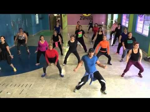Dance fitness zumba