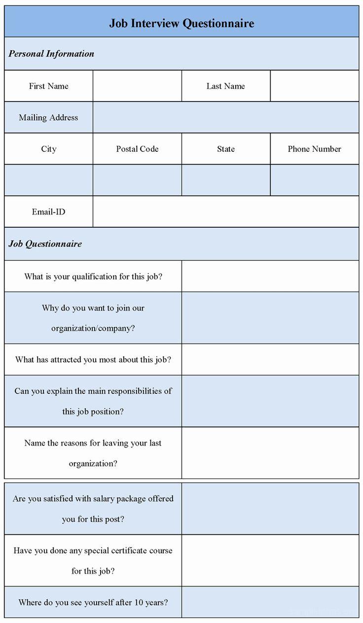 Employee Interview Evaluation form Elegant Job Interview