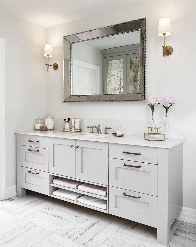 Bathroom Vanity One Sink Allows More Counter Space Bathroom