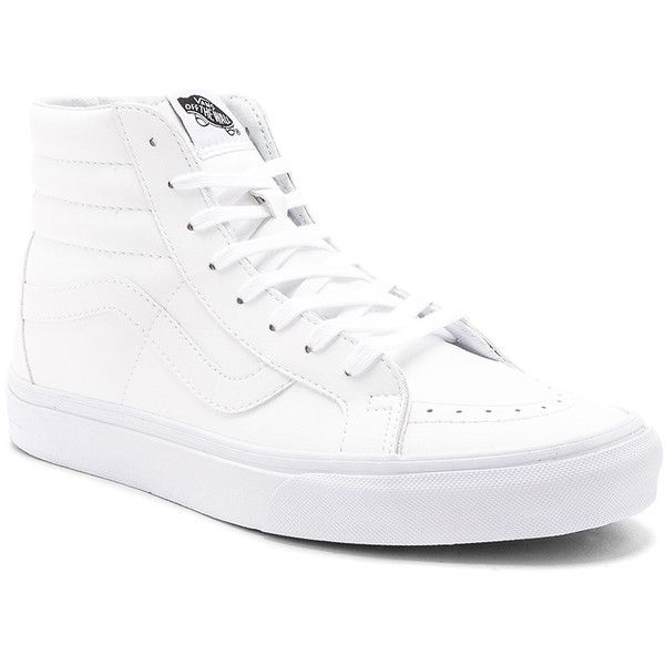 Vans SK8 Hi Reissue ($70) ❤ liked on Polyvore featuring men's fashion, men's shoes, men's sneakers, sneakers, mens lace up shoes and vans mens shoes