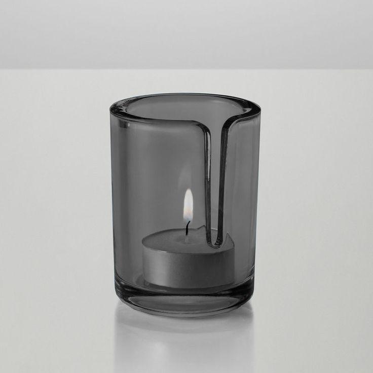 top3 by design - MUUTO NEW NORDIC - match glass tealight grey