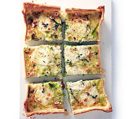 This cheese and vegetables shortcrust pastry tart is perfect for a midweek meal, or picnic, and it's cheap to prepare