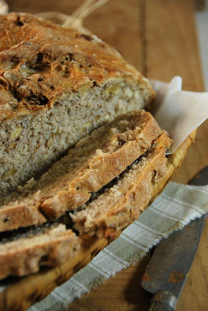 Recette Pain aux noix et farine multi-céréales