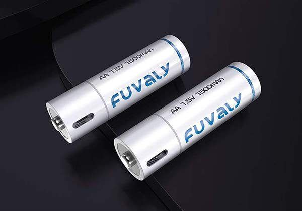 Fuvaly Usb Rechargeable Aa Aaa Lithium Ion Batteries Gadgetsin Usb Rechargeable Usb Usb Gadgets