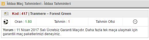 11 Nisan Salı Ücretsiz Garantili Maçı burada,diğer tüm ücretsiz maçlar ve kuponlar www.tahminofisi.com da yayında. Bekleriz...