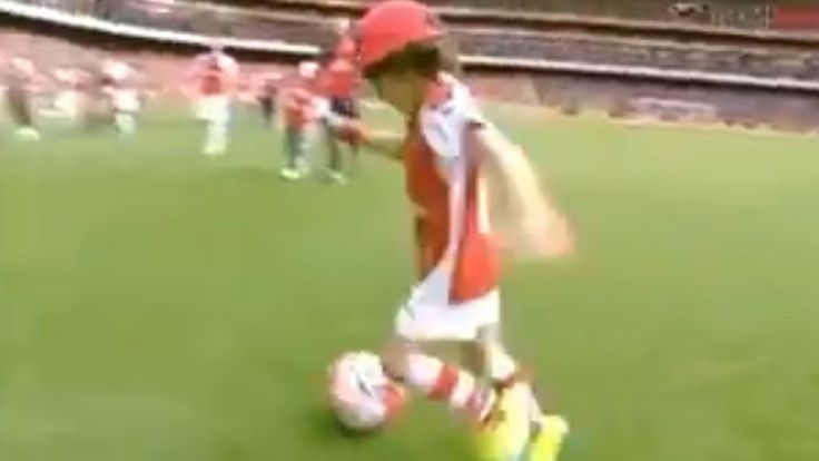 How good is Enzo Cazorla as a five-year-old?