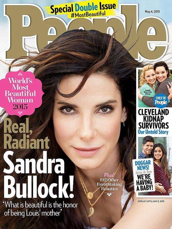 Sandra Bullock Named Most Beautiful Woman on Earth!