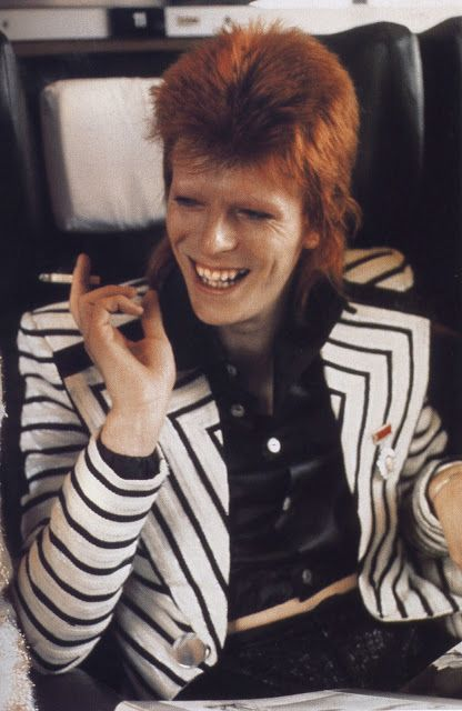 Bowie is my life inspiration                                                                                                                                                                                 More