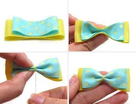 DIY Crafts : DIY make cute hair clips