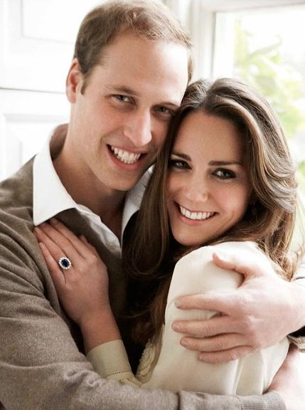 Will & Kate engagement photo