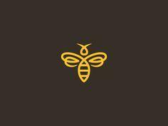 Bee Icon #logo #logo design