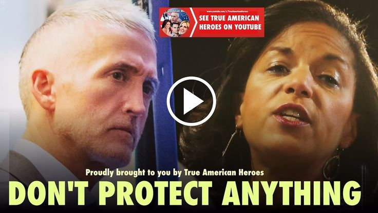 Susan Rice Exposed! MSNBC Tries To Get Trey Gowdy To Say Susan Rice Is Innocent - YouTube