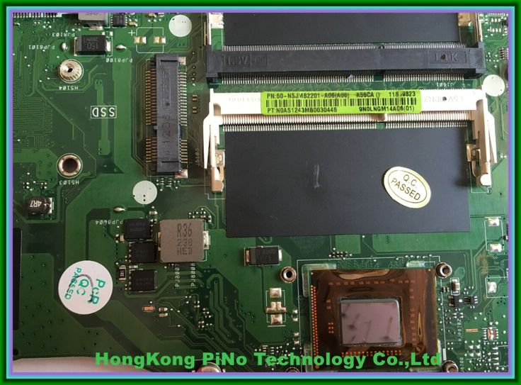 Free Shipping K56CA motherboard For Asus K56CA laptop motherboard 60-NSJMB2201-A06 fully tested