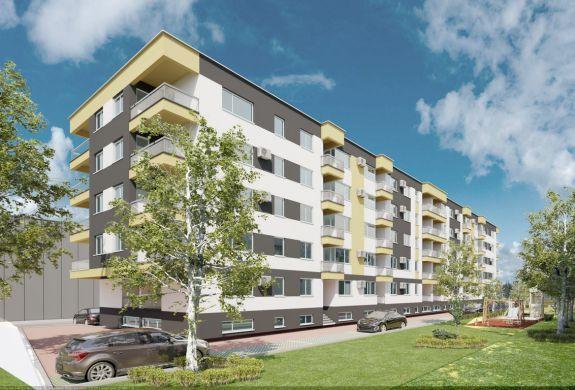 Un nou ansamblu de garsoniere si apartamente de 2 si 3 camere, dezvoltat in Bucuresti, Sector 4, langa Grand Arena. Preturi incepand de la 32.400 euro, tva 5% inclus.