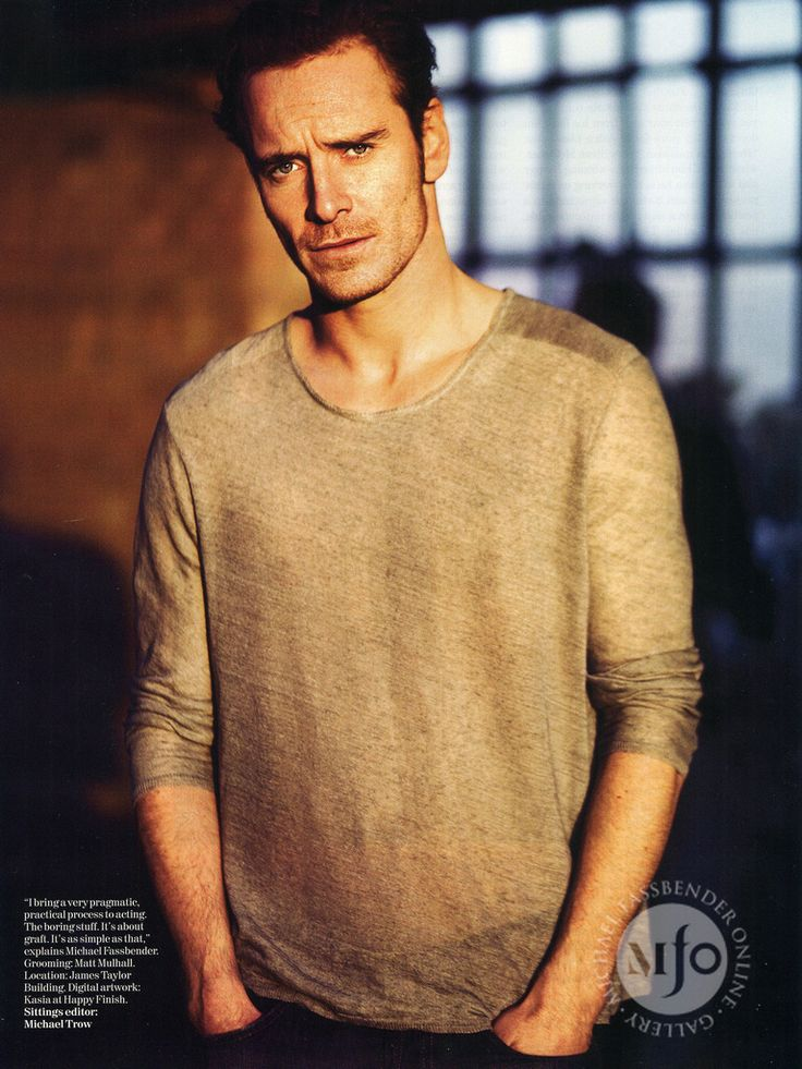 Michael Fassbender...good grief, I completely forgot what I was going to say here...