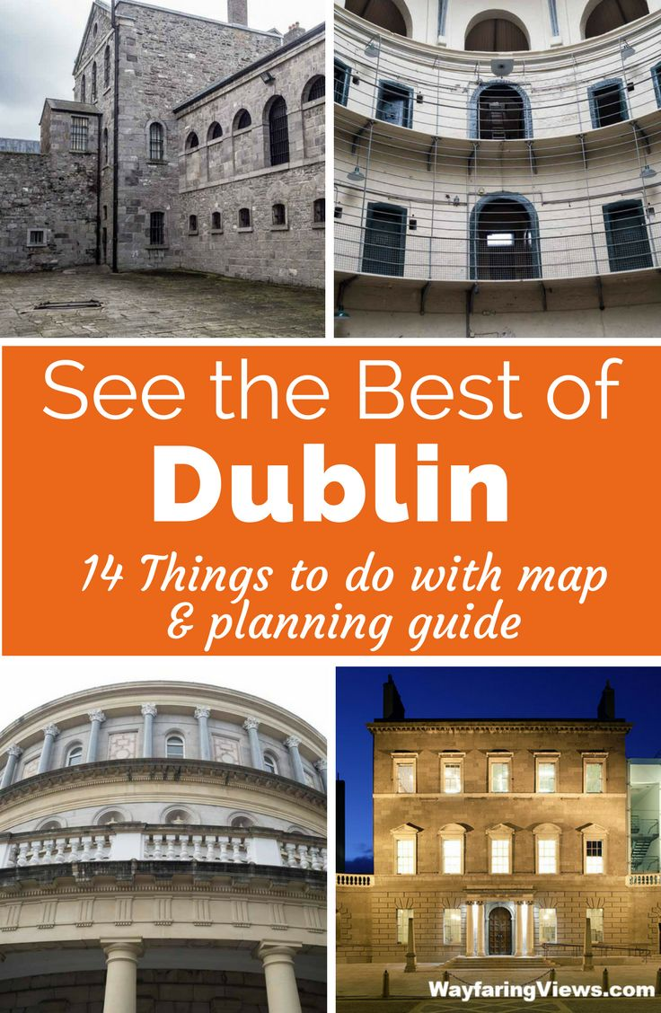 See the best of Dublin in a day. Get two different itineraries that include the must see sights and attractions in Dublin. |Travel in Ireland | Things to do in Dublin | #europe #travel #ireland #dublin #itinerary