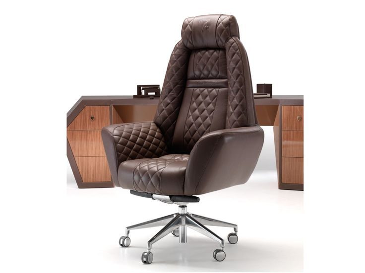 LONG BEACH High-back executive chair Long Beach Collection by Tonino Lamborghini Casa