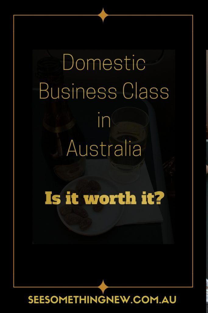 Domestic business class in Australia – is it worth it?