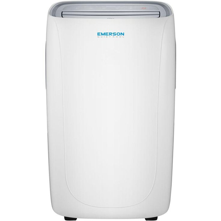 Emerson 12,000 BTU 115-Volt Portable Air Conditioner with Dehumidifier Function and Remote in White