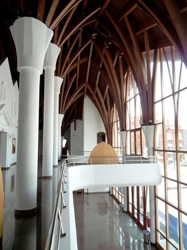 Makovecz Imre épületei - Művelődési ház - Lendva - Muravidék - Délvidék