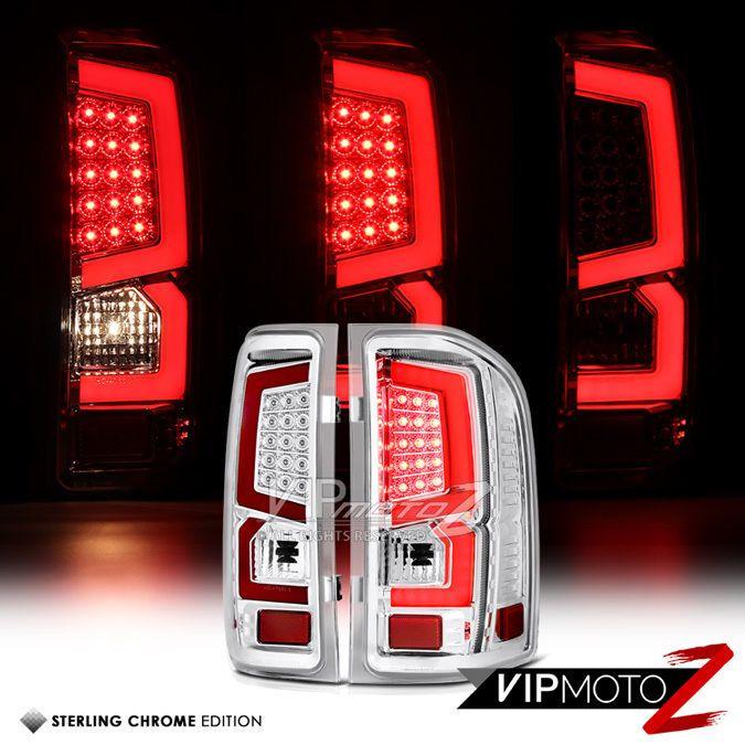 #2007-#2013 #Chevy #Silverado #1500 #2500HD #3500HD #Red #Neon #LED #TailLights #VIPMOTOZ