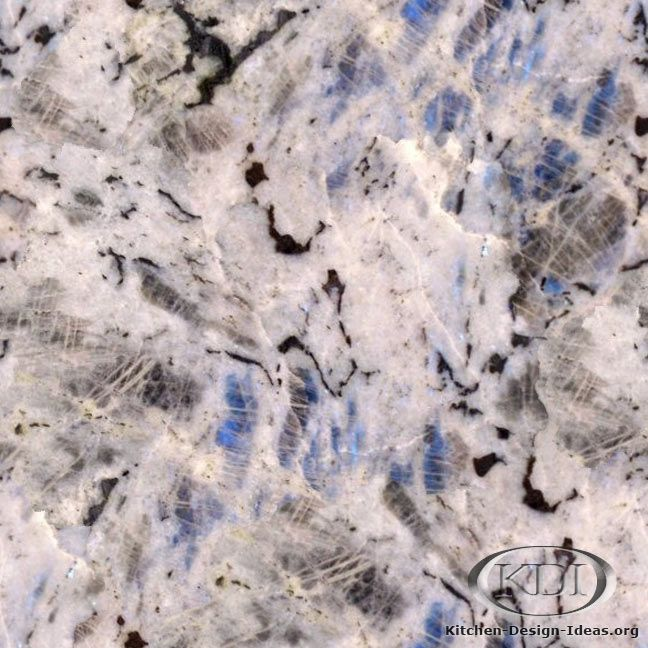 Glacier Ice Granite  (Kitchen-Design-Ideas.org) beautiful!