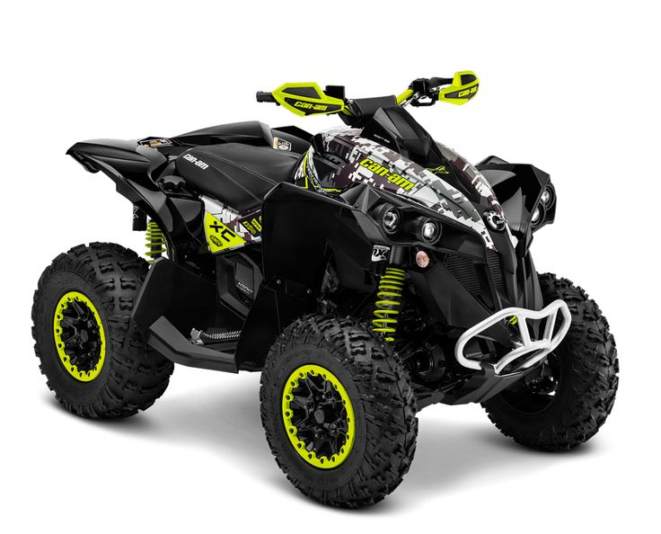 CanAm Renegade ATVs The Best Sport 4x4 Performance Can