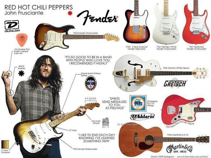 John frusciante guitar - photo#5