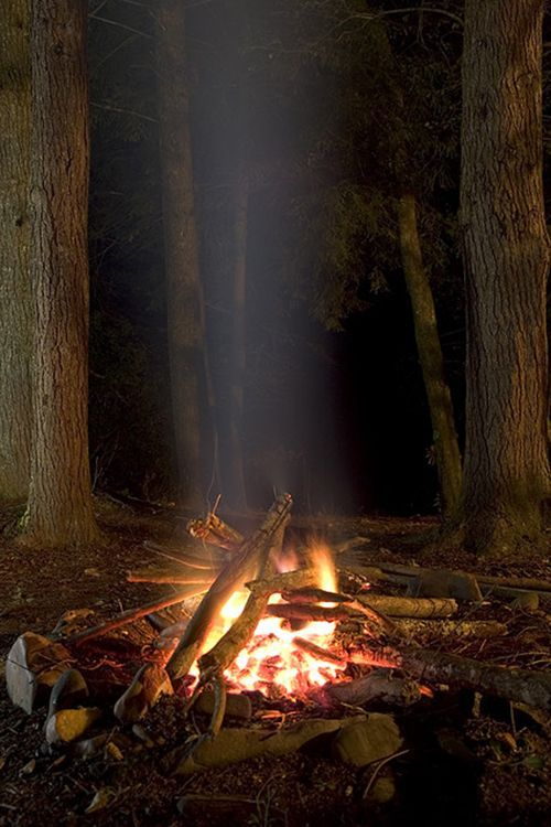 One of the best thing's about #camping is sitting by the #fire!
