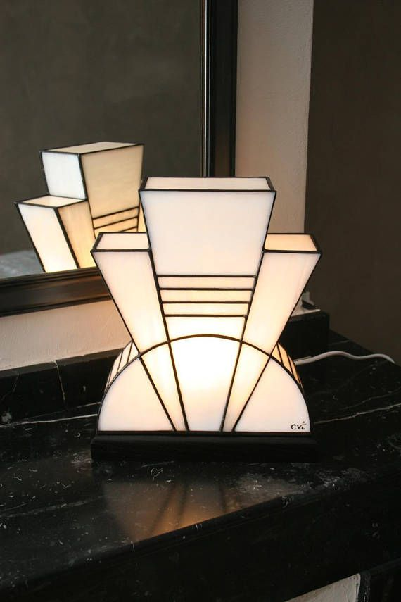 Lamp Tiffany Lamp Art Deco Tiffany Tiffany Stained Glass Table
