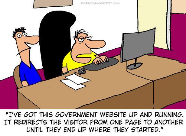 Home affairs website design team