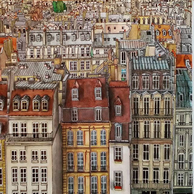 The 143 Best Fantastic Cities Colouring Book Images On Pinterest