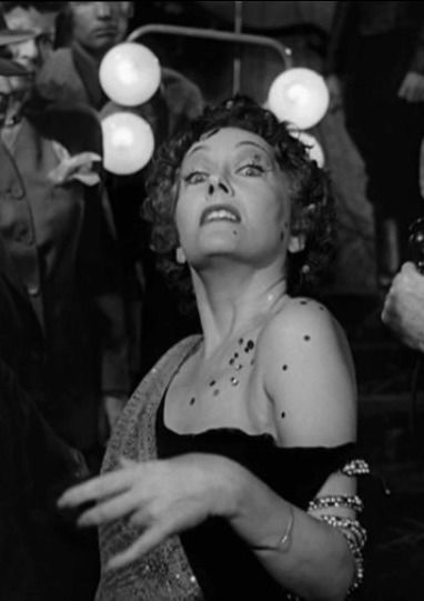 Gloria Swanson in Sunset Boulevard 1950 Film noir.