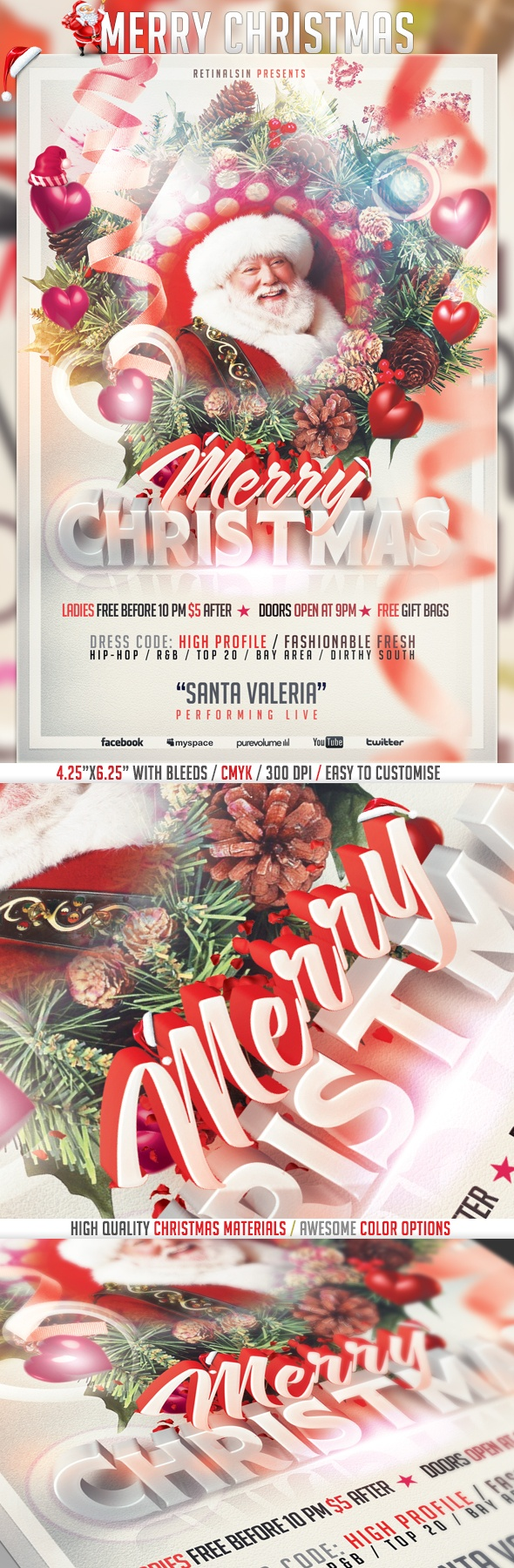 best images about christmas christmas parties psd merry christmas flyer template hq by serhat oumlzalp via behance