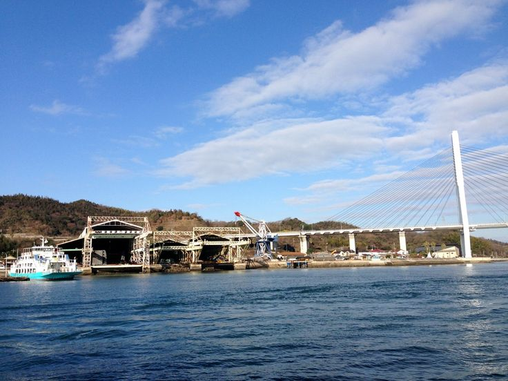 2015/1/13 Shooting from the top of the ferry. 渡船からのショット!!