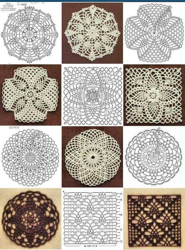 314 best crochet granny images on Pinterest | Crochet pattern ...