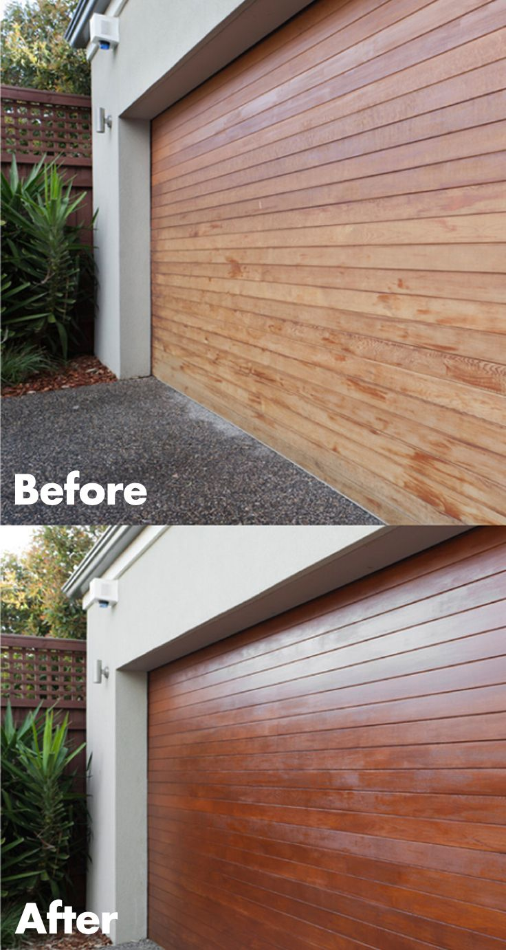 Give your timber a face-lift and protect it from the weather with a fresh coat of varnish. #Easter #DIY