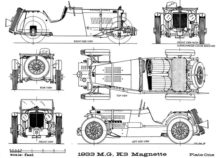 Mg K3 1933 Smcars Net Car Blueprints Forum 1920s