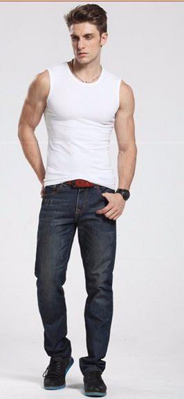 2017 Men Tank Top New Brand Chase Deer Cotton High Quality Undershirt Bodybuilding Singlet Fitness Sleeveless Vest Men Tank Tops #fashion #style #shopping #fitness #fitnessjourney #mensfashion #badybuilding #superman #crossfit #superhero