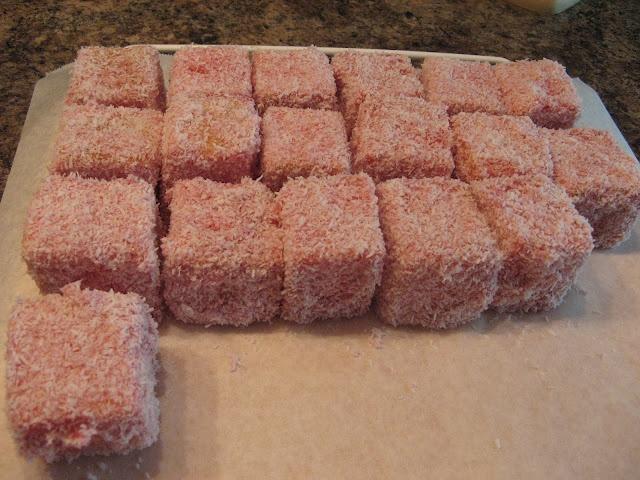 Jello Cake Squares