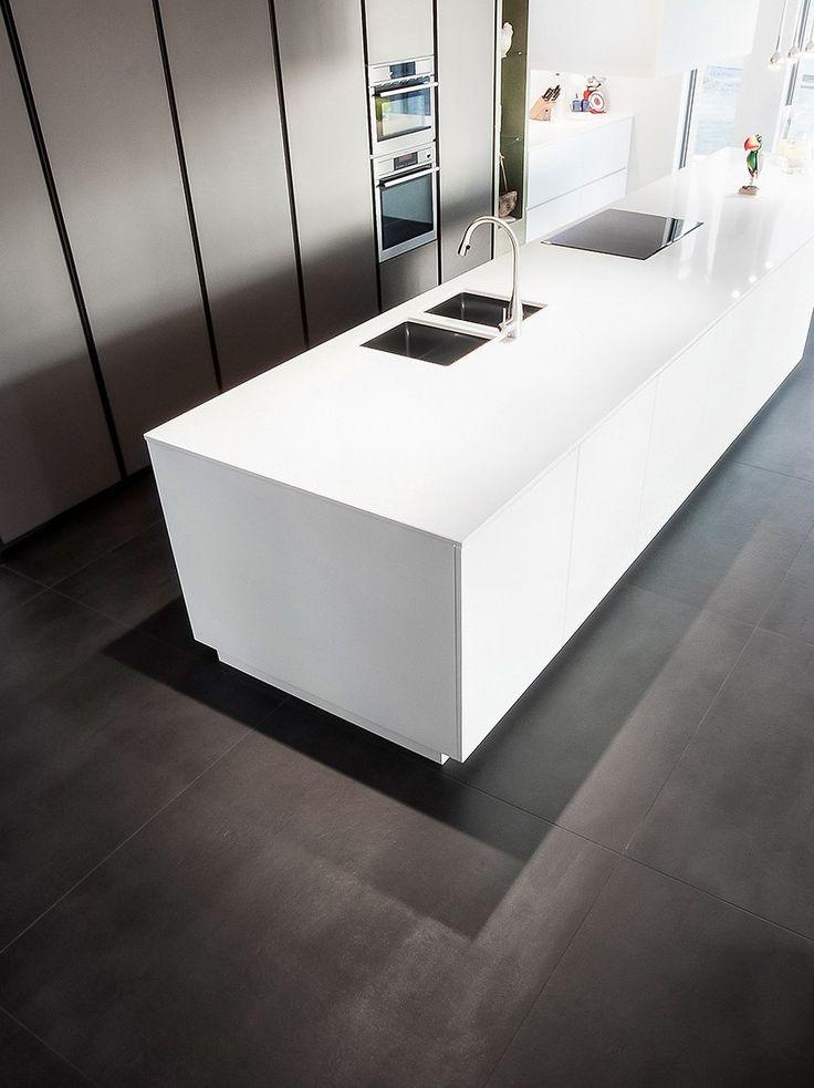 Full-body porcelain stoneware wall/floor tiles 120 CONCRETE - @dsgceramiche
