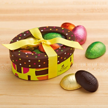 151 best easter chocolates images on pinterest easter recipes so charming the easter bunny may want his own peek through the lid of negle Choice Image