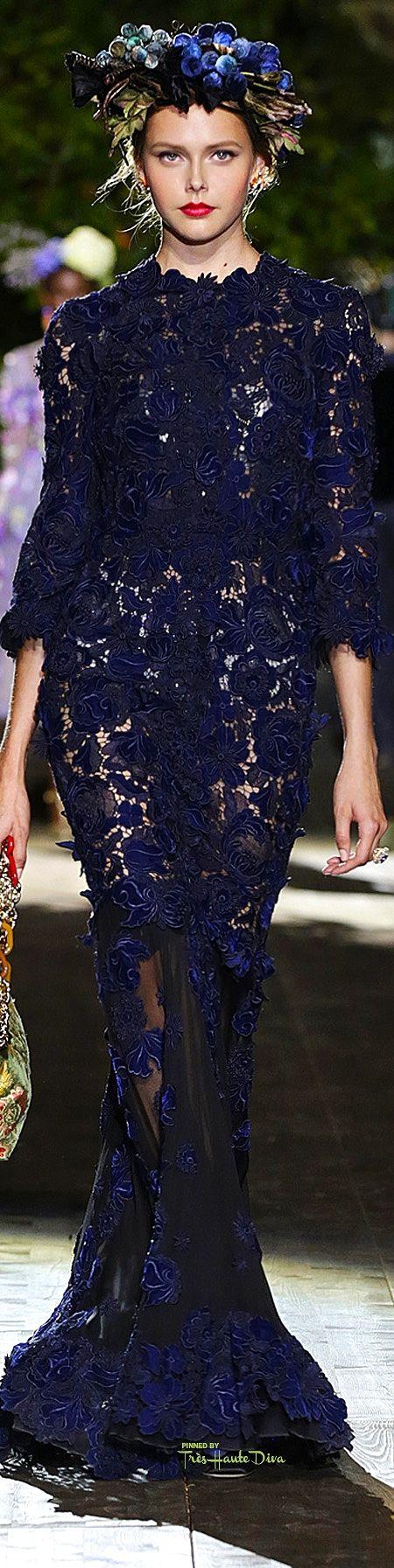 Dolce & Gabbana Alta Moda Fall 2015 | THD    ᘡղbᘠ